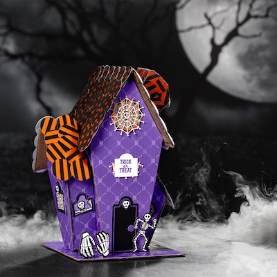 Paper Pumkin house idea