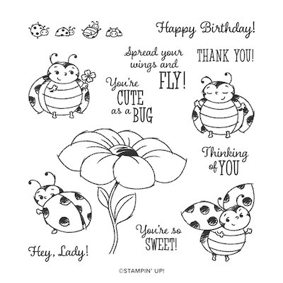 Little Ladybug Stamp set