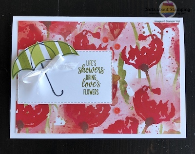 Under My Umbrella friendship card
