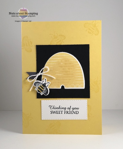 Honey Bee card map