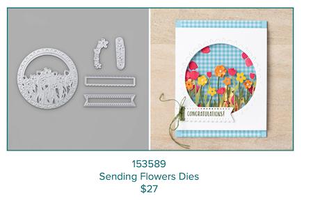 Sending Flowers dies