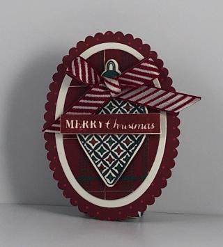 Christmas Gleaming Gift Tag