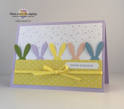 Itty Bitty Greetings Easter card