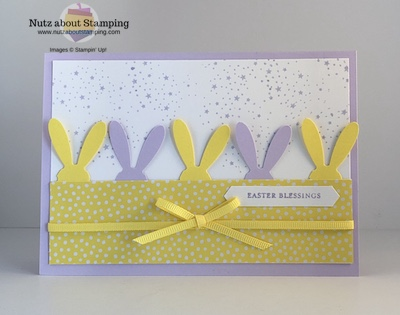 Itty Bitty Easter card repeating
