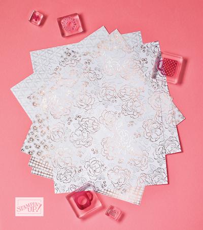 Flowering Foils paper