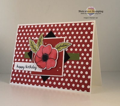Painted Poppies card map