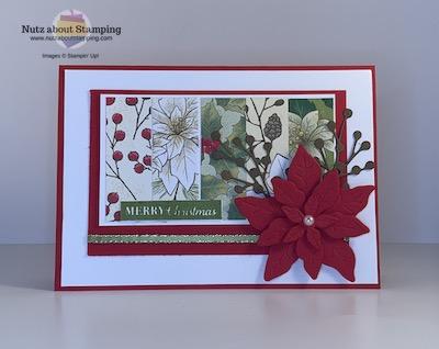 Poinsettia Petals paper scraps