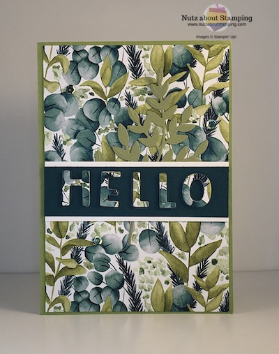 Playful Alphabet Hello card