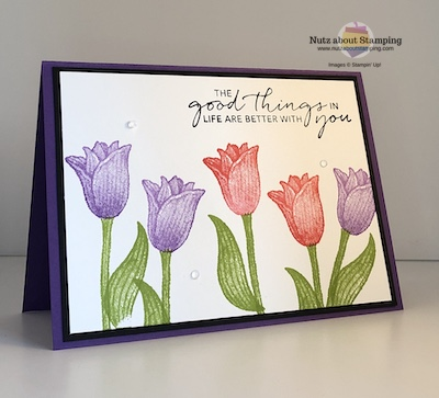 Timeless Tulips card map