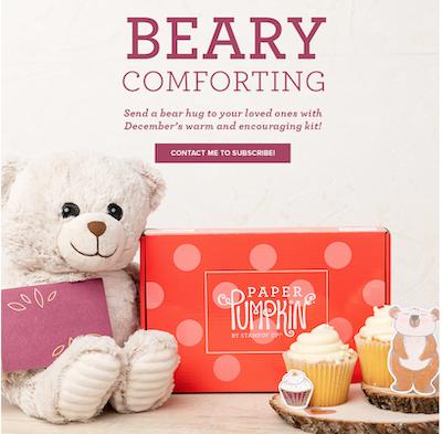 Beary Comforting kit