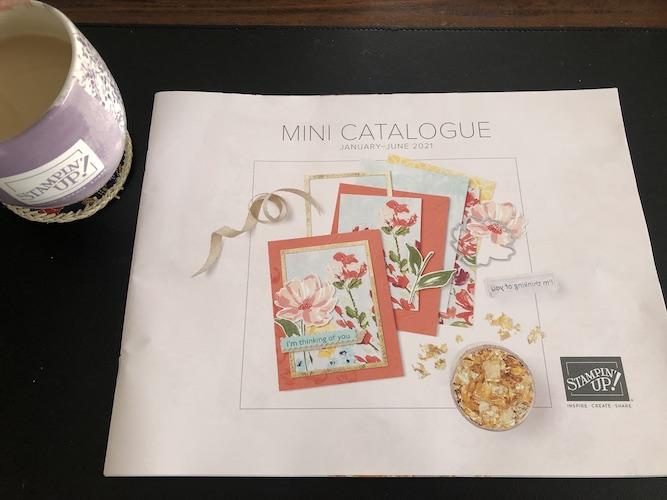Stampin' Up! Jan-June Mini Catalog