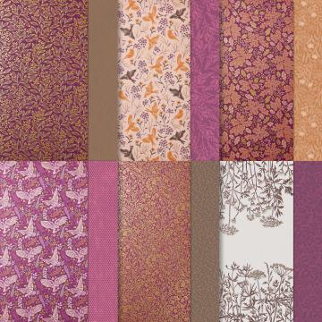 Blackberry Beauty paper