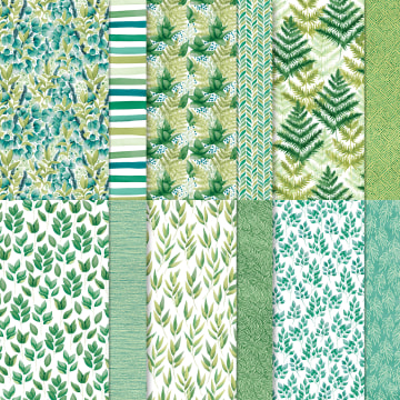 Forever Greenery paper