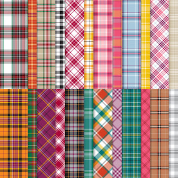Plaid Tidings paper