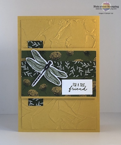 Dragonfly Dreams mystery stamping card