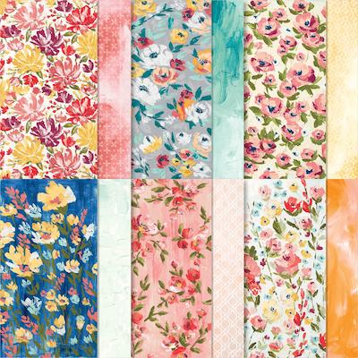 Fine Art floral paper