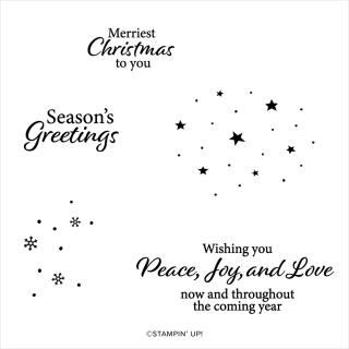 Christmas Whimsy stamp set