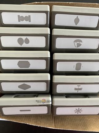 Upright in box