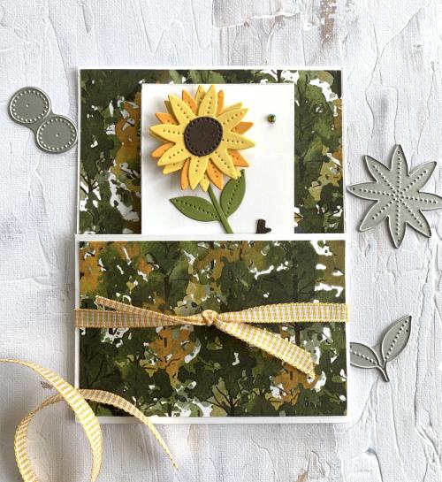 Pierced Blooms Sunflower