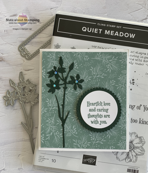 Quiet Meadow gift card holder